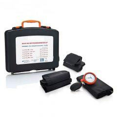 Kit Tensiomètre manuel de base type palm kit 5* brassards,  Qualité Supérieure (y compris stéthoscope de qualité) ST-P96X-SET
