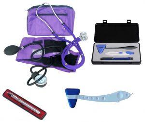 Tensiomètres manuels , Kit Otoscope  (y compris stéthoscope de sprague rappaport) ST-A32