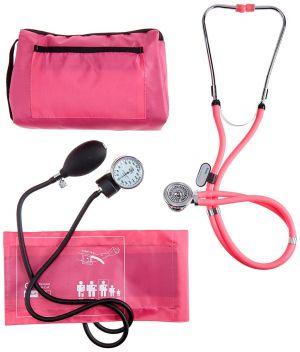 Handmatige bloeddrukmeter multifunctioneel set ST-A056-ROZE